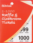 Raffle/Cloakroom Ticket Book 1 1000