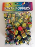 Party Poppers Bag Of 50
