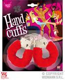Red Furry Handcuffs