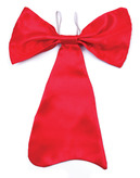 Large Red Bow Tie