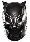 Black Panther Half Metallic Mask
