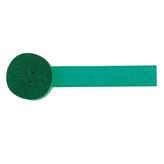 Crepe Streamer Green