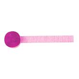 Crepe Streamer New Pink