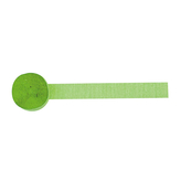 Crepe Streamer Kiwi Green