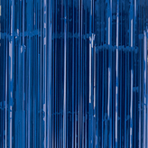 Door Curtain Metallic Bright Blue