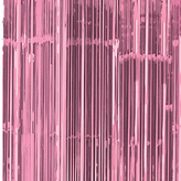 Door Curtain Metallic New Pink