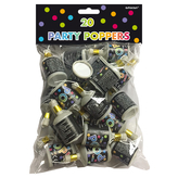 Standard Party Poppers Bag Of 20