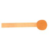 Crepe Streamer Orange