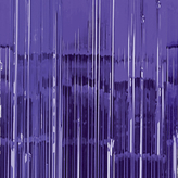 Door Curtain Metallic Purple