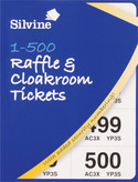 Cloakroom/Raffle Ticket Book 1 500