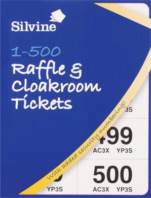 Cloakroom/Raffle Tickets 1 500