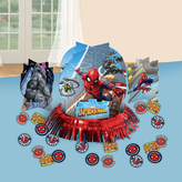 Spiderman Table Decoration Kit