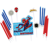 Spiderman Candle Set