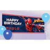 Spiderman Giant Personalised Banner