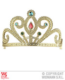 Gold Tiara With Gems