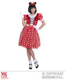 Mouse Girl Long Dress Costume