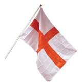 England 5ft X 3ft Flag Pole And Mount