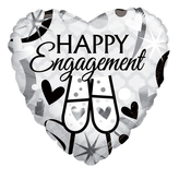 Engagement Glasses Foil Balloon