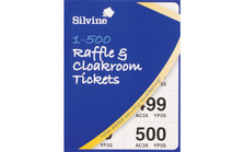 Raffle Ticket Book 1 500