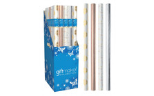 Celebration 1.5m Gift Wrap Roll Asstd