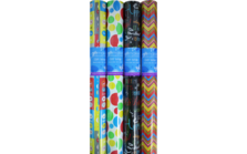 Bright 3m Gift Wrap Roll Asstd