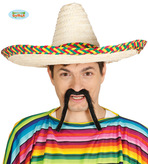 Straw Mexican Hat Sombrero
