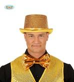 Gold Shiny Bow Tie 20cm