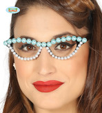 50s Glasses With Pearls