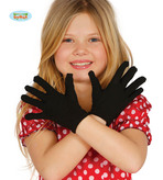 Child Size Black Gloves
