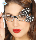 50s Glasses With Bow