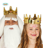 Child Gold Plastic Crown