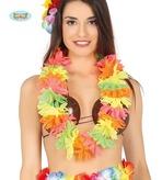 Flourescent Hawaiian Lei