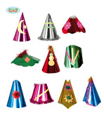 Assorted Metallic And Tinsel Party Hats