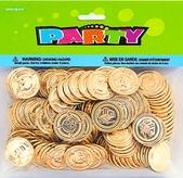 Plastic Favour Gold Coins