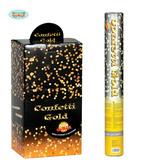 Gold Metallic Confetti Cannon 40cm