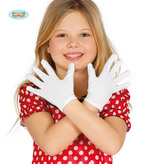 Child Size White Gloves