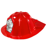 Child Fireman Helmet Red