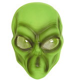 Plastic Alien Mask Green