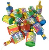 Party Poppers Traditional Box Of 72