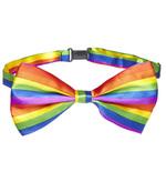 Deluxe Rainbow Bow Tie