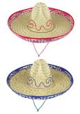Sombrero Straw Multi Trim Large