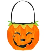 Smiley Pumpkin Trick Or Treat Bag