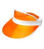 80s Orange Sun Visor Hat