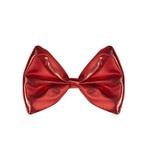 Red Metallic Bow Tie
