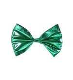 Green Metallic Bow Tie