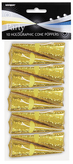 10 Gold Cone Poppers