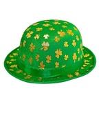 St Patricks Day Shamrock Bowler Hat