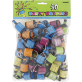 Party Poppers Bag Of 50 Asstd Colour