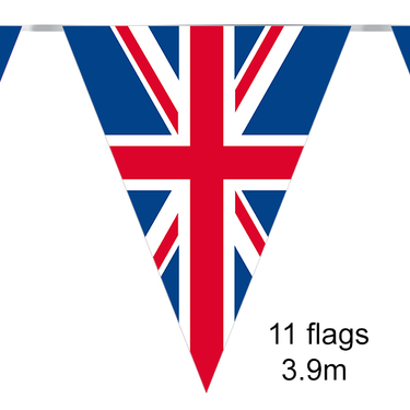 Union Jack Party Bunting 12ft