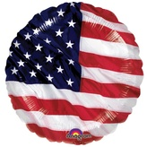 Usa Patriotic Foil Balloon